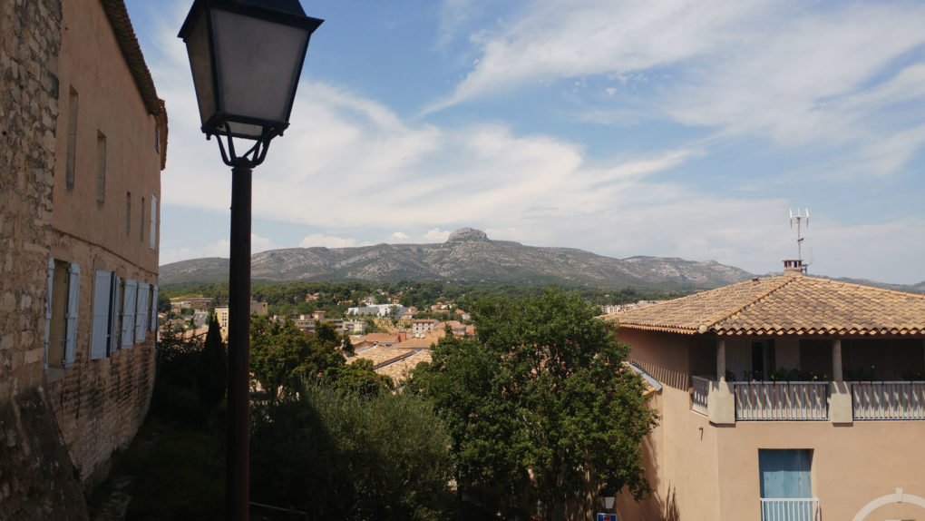 Vue panoramique sur le Garlaban