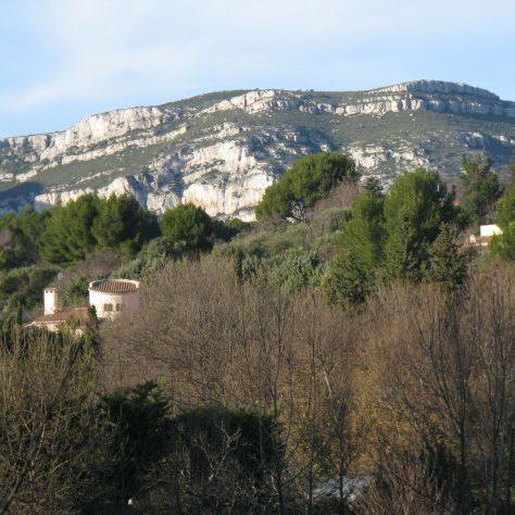 Les collines d'Aubagne