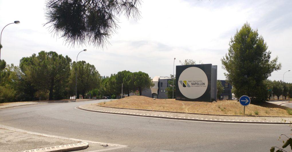 Zone d'activité entreprises Napollon